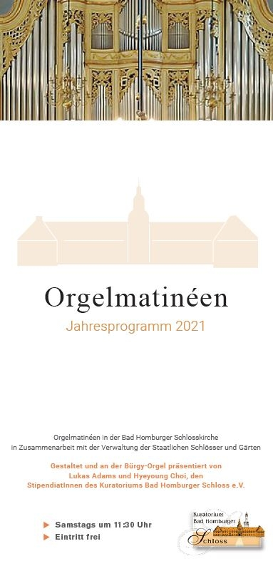 Flyer Orgelmatinée