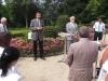 Begrüßung durch Herrn Karl Weber, Direktor der Schlösserverwaltung